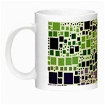 Block On Block, Purple Night Luminous Mugs Left