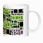 Block On Block, Purple Night Luminous Mugs Right