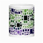 Block On Block, Purple Morph Mugs Center