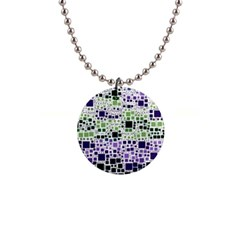 Block On Block, Purple Button Necklaces