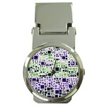 Block On Block, Purple Money Clip Watches Front