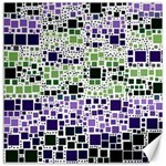 Block On Block, Purple Canvas 20  x 20   20 x20 Canvas - 1