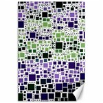 Block On Block, Purple Canvas 24  x 36  36 x24 Canvas - 1