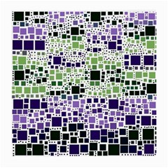Block On Block, Purple Medium Glasses Cloth