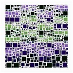 Block On Block, Purple Medium Glasses Cloth (2-Side) Front