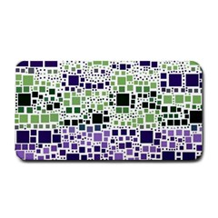 Block On Block, Purple Medium Bar Mats