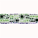 Block On Block, Purple Large Bar Mats 34 x9.03 Bar Mat - 1