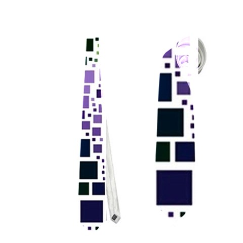 Block On Block, Purple Neckties (Two Side)