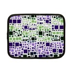Block On Block, Purple Netbook Case (Small)  Front
