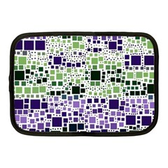 Block On Block, Purple Netbook Case (Medium)