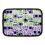 Block On Block, Purple Netbook Case (Medium)  Front