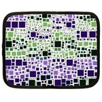 Block On Block, Purple Netbook Case (Large) Front