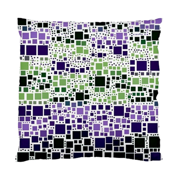 Block On Block, Purple Standard Cushion Case (One Side)