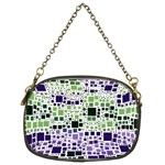 Block On Block, Purple Chain Purses (Two Sides)  Back