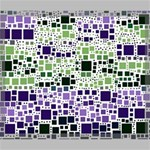 Block On Block, Purple Canvas 24  x 20  24  x 20  x 0.875  Stretched Canvas