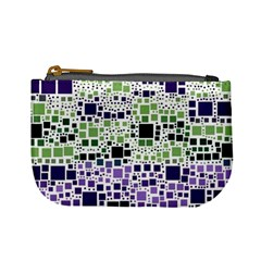 Block On Block, Purple Mini Coin Purses