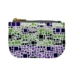 Block On Block, Purple Mini Coin Purses Front