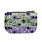 Block On Block, Purple Mini Coin Purses Back