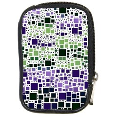 Block On Block, Purple Compact Camera Cases