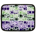 Block On Block, Purple Netbook Case (XXL)  Front