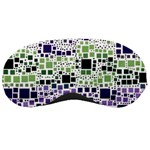 Block On Block, Purple Sleeping Masks Front