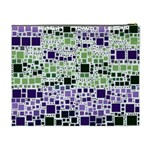 Block On Block, Purple Cosmetic Bag (XL) Back