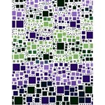 Block On Block, Purple Large Memo Pads 4.125 x5.5  Memopad