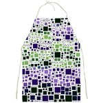 Block On Block, Purple Full Print Aprons Front
