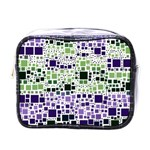 Block On Block, Purple Mini Toiletries Bags Front