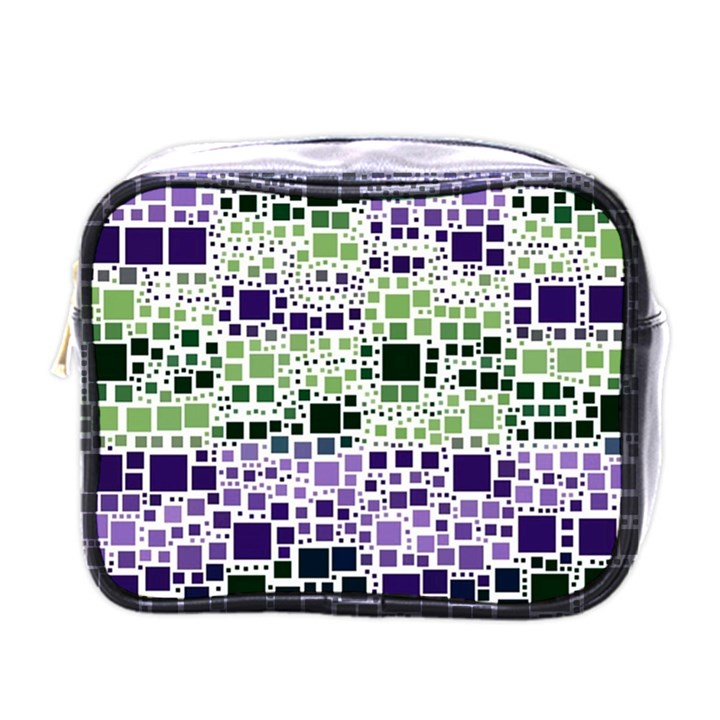 Block On Block, Purple Mini Toiletries Bags