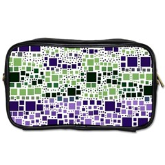 Block On Block, Purple Toiletries Bags 2-Side