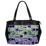 Block On Block, Purple Office Handbags Front