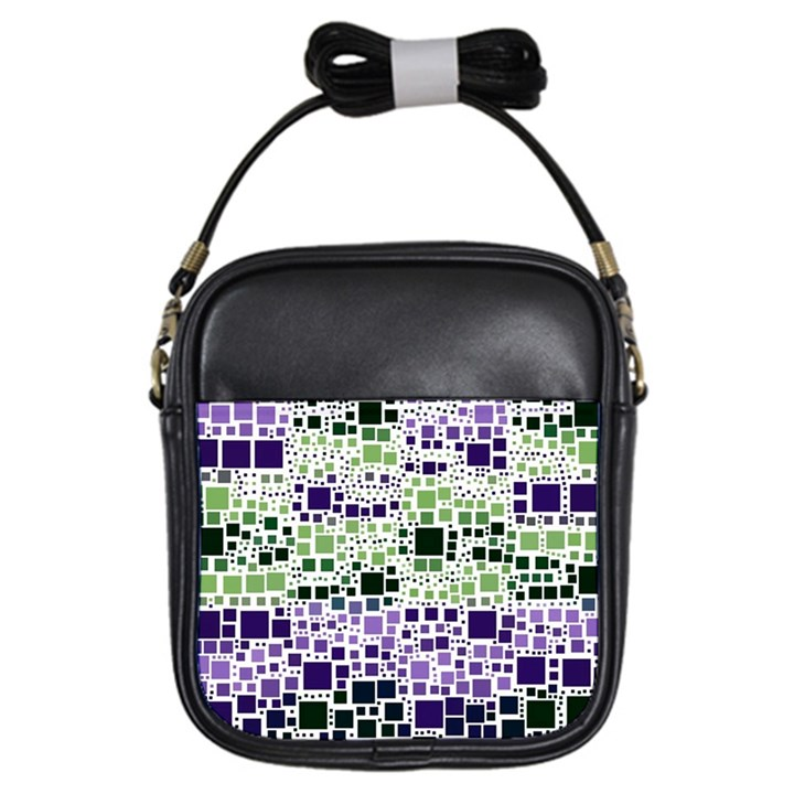 Block On Block, Purple Girls Sling Bags