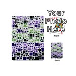 Block On Block, Purple Playing Cards 54 (Mini)  Front - Spade10