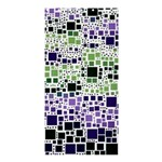 Block On Block, Purple Shower Curtain 36  x 72  (Stall)  33.26 x66.24 Curtain