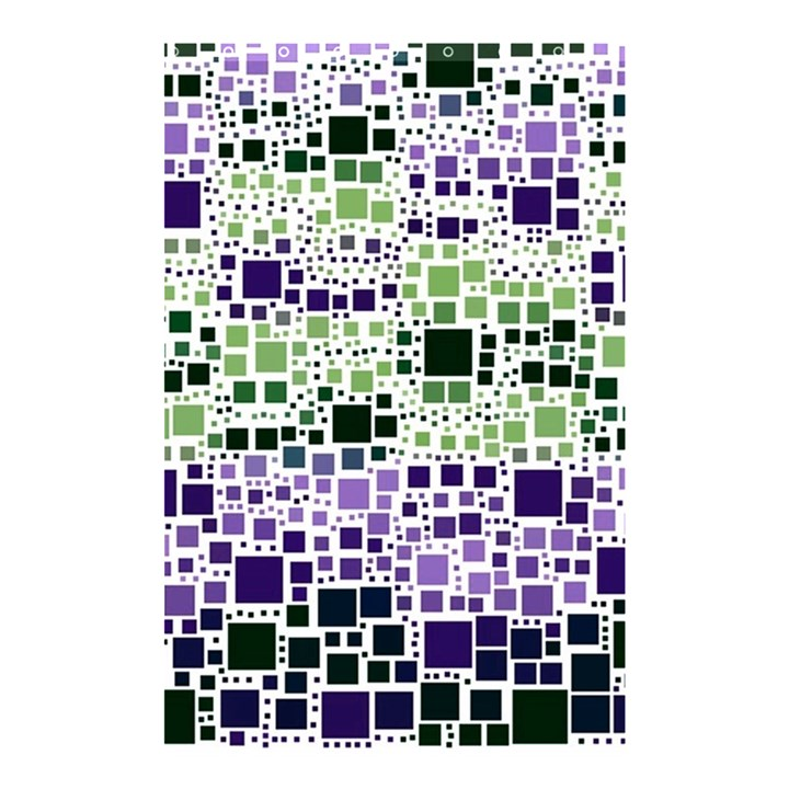 Block On Block, Purple Shower Curtain 48  x 72  (Small)