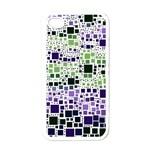 Block On Block, Purple Apple iPhone 4 Case (White) Front