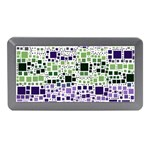Block On Block, Purple Memory Card Reader (Mini) Front
