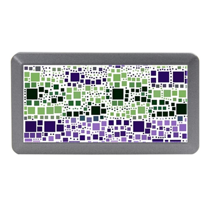 Block On Block, Purple Memory Card Reader (Mini)