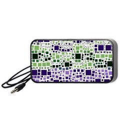 Block On Block, Purple Portable Speaker (Black)