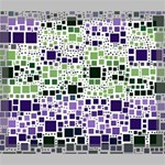 Block On Block, Purple Deluxe Canvas 24  x 20   24  x 20  x 1.5  Stretched Canvas