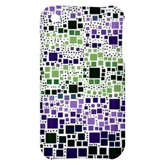 Block On Block, Purple Apple iPhone 3G/3GS Hardshell Case