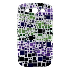 Block On Block, Purple Samsung Galaxy S III Hardshell Case
