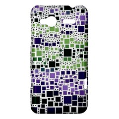 Block On Block, Purple HTC Radar Hardshell Case