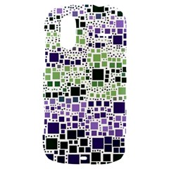 Block On Block, Purple HTC Amaze 4G Hardshell Case