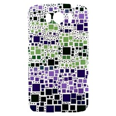 Block On Block, Purple HTC Sensation XL Hardshell Case