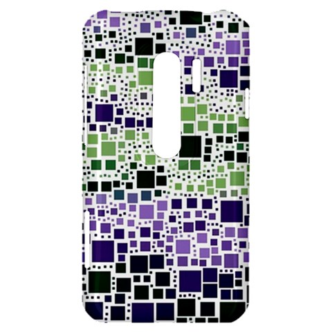 Block On Block, Purple HTC Evo 3D Hardshell Case