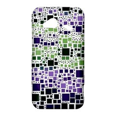 Block On Block, Purple HTC Droid Incredible 4G LTE Hardshell Case