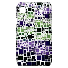 Block On Block, Purple Samsung Galaxy S i9000 Hardshell Case