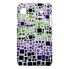 Block On Block, Purple Samsung Galaxy S i9008 Hardshell Case